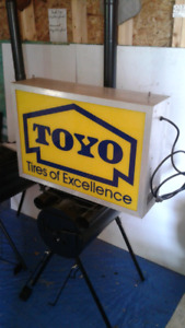 2 sided light up sign  $180.00