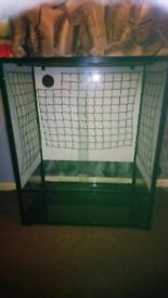 Komodo glass and mesh viv large