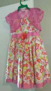 Girls 2 piece dress