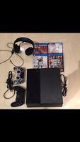 Sony PlayStation 4  500 GB Console NOIR et ok