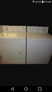 Move out sales. Dryer for sale. Washer free