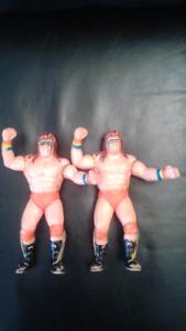 LJN WWF The Ultimate Warrior 1989 Wrestling Action Figures!