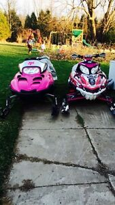2 Snowmobiles for sale/trade