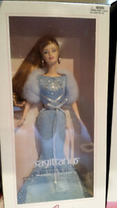 Pink Label Zodiac Barbie Dolls Still in Box Libra Sag Tau Libra