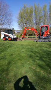 Excavating and bobcat service