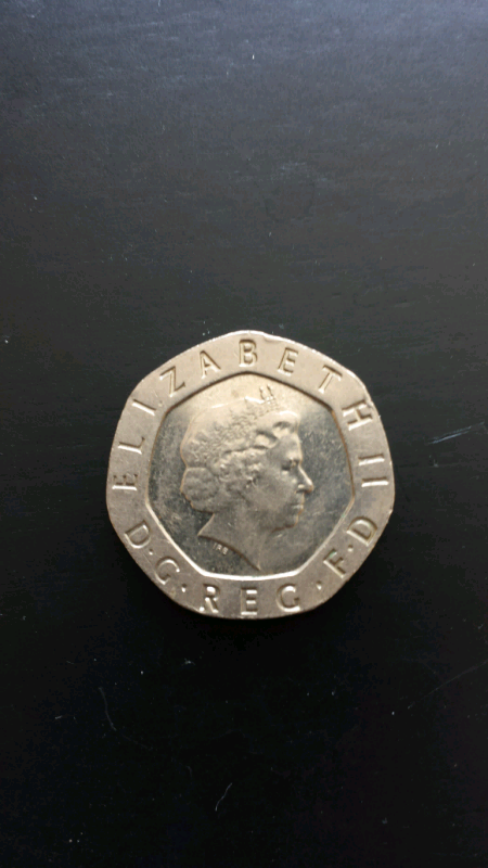RARE undated 20p mint error coin | in Sunderland, Tyne and Wear | Gumtree