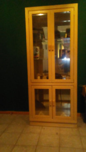 Glass Armoire
