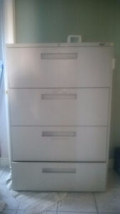 4 drawers lateral cabinet