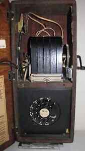 ANTIQUE NORTHERN ELECTRIC OAK WOOD WALL PHONE Kawartha Lakes Peterborough Area image 6