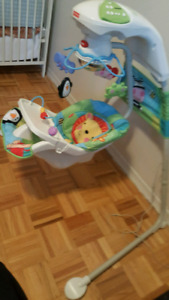 Mint Fisher price swinging for sale