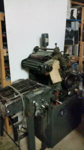 One Color Printing Press