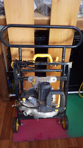 compound mitre saw with stand