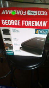 New George Foreman Panini Grill