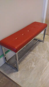 Red Bench from Bouclair