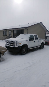 2011 f250 6.2 l with leveling kit