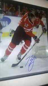 Brendan Gallagher team canada Autographed Hockey picture