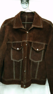 Men's Vintage Suede Jacket