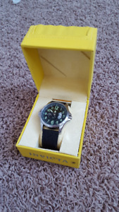 Invicta Model 0787 Pilot's Watch - with 2 calf skin bands