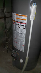 Rheem Gas Water Heater - 2 years old; perfect 50 gallons