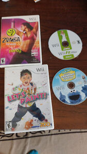 For Sale Wii Games