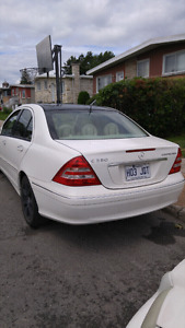 Mercedes benz c230 kompressor 2005