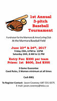 3 Pitch Tournament - Charity in Marmora June 23-24