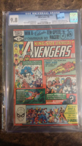 Avengers annual 10 - 1st appearance of Rogue CGC 9.8