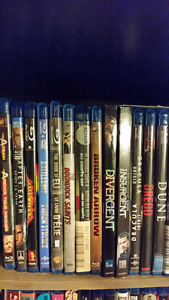 Blu Ray Movies!!!! $5.00 per movie or 3 for $12.00.