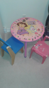 Child Table Set with 2 chairs