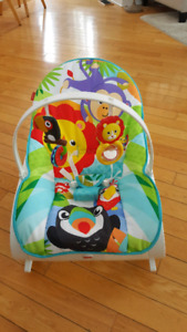 Fisher Price Vibrating Infant to Toddler Rocker