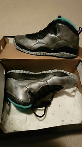 Jordan 10 Retro 30thsize 9.5 and 10.5 DS Kitchener / Waterloo Kitchener Area image 2