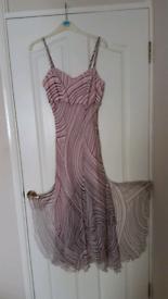 Used, Pink Kaliko calf length dress. for sale  Woking, Surrey