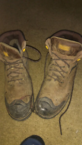 Size 15 steel toed boots CSA approved  for sale