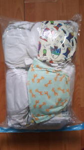Large bag of diapers
