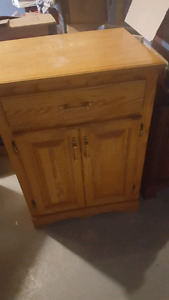 Small cabinet - microwave
