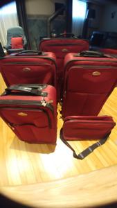 Ensemble de valises Cambridge, 5 pièces