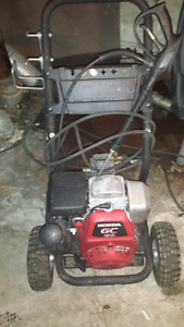 Pressure washer gaz 190 hp