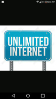 Unlimited high-speed internet no upfront cost