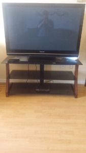 "Tv stand/55"" Panasonic flat screen"