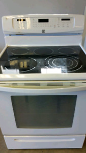 Kenmore electric range with convection oven