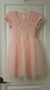 Girl's Justice Pink Dress - Size 14 - New With Tags