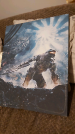 Halo canvas poster(waiting for collection)