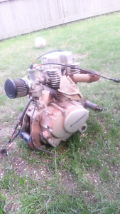 90 cc  quad engine