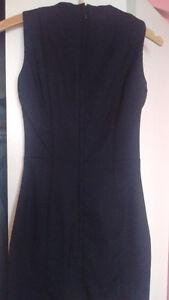 Sleeveless blue with dress