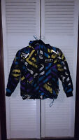 FXR Squadron boy's jacket size 8 with hoodie