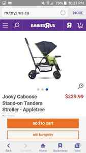 Joovy sit n stand *trade only* London Ontario image 3