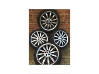 Range Rover overfinch wheels for sale 22''