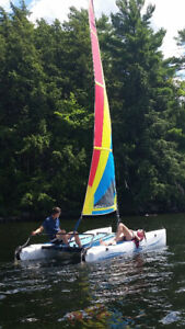 Sailboat (Hobie Cat Wave)