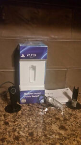 PS3 Bluetooth Headset, 1 camo, 1 black, $20 each, excellent cond
