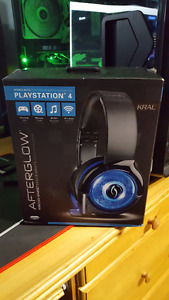 PS4 Wireless Headset Afterglow Kral for Sale